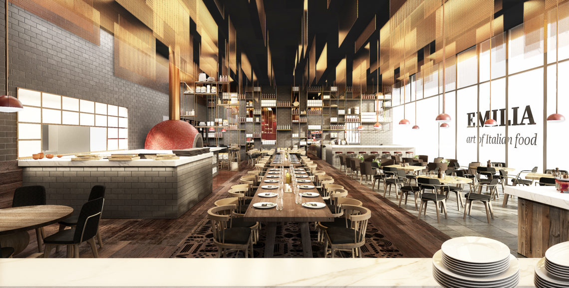 Restaurants & Hotels - Emilia Restaurant