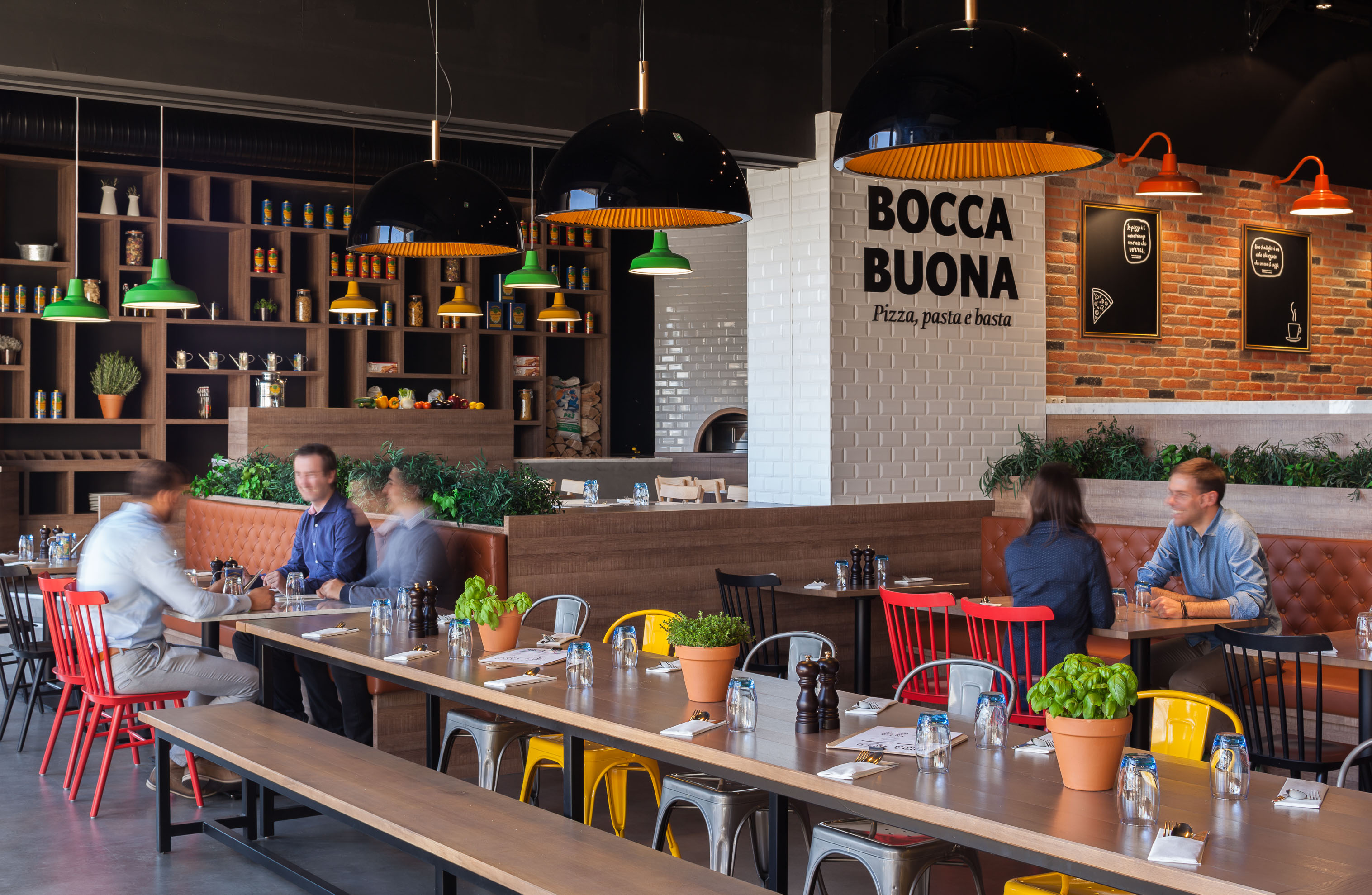 Restaurants & Hotels-Bocca Buona Nice-Restaurants
